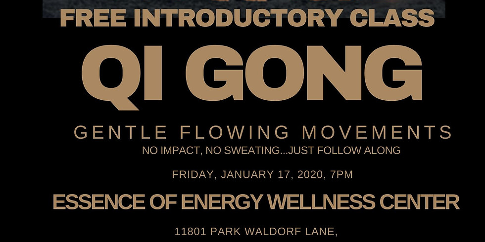 Free Introductory Class-- Qi Gong