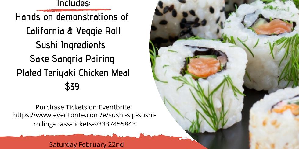 Sushi & Sip