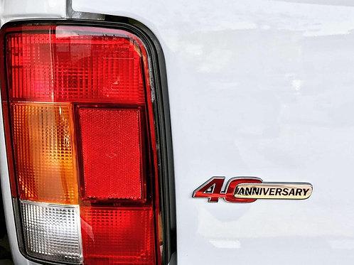 Lada 4x4 40. Yıl Amblem
