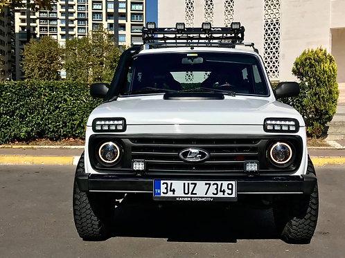 Lada Niva 4x4 Far üzeri Led Sinyal