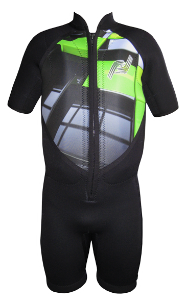 Short Sleeve Ski Floatation Suit Digital Art