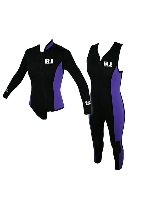 Ladies 2PC Dive Suit