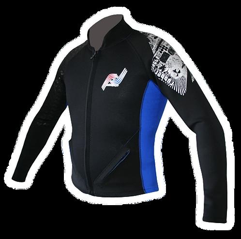 Long Sleeve Front Zip Vest