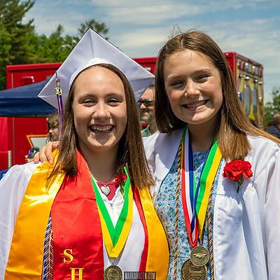 Olivia Sohl & Tyler Descoteau JSRHS High School Graduation 2019