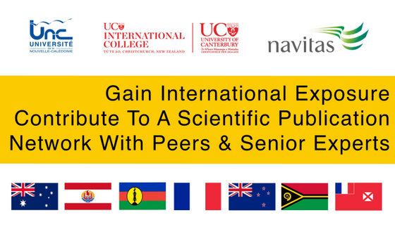 Gain International Exposure: Contribute to a scientific publication network with experts