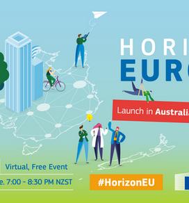 Horizon Europe - Launch in Australia & New Zealand