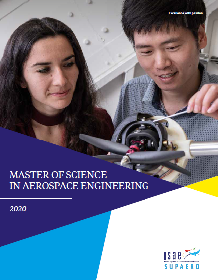 Master in Aerospace Engineering - ISAE-SUPAERO Toulouse, France
