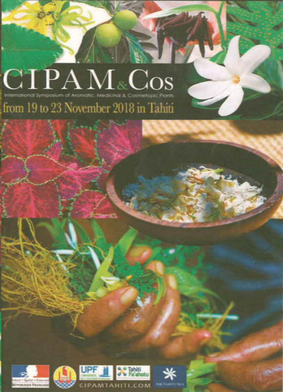 Internatinal Symposium of Aromatic, Medicinal & Cosmetic Plants - Nature and Culture: from knowl