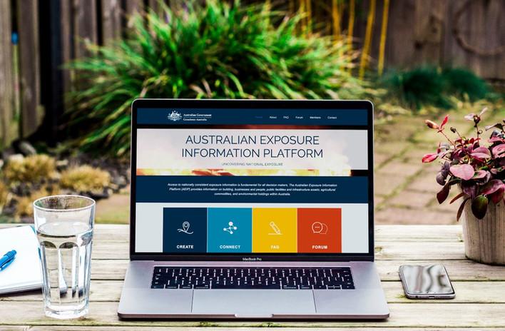 The Australian Exposure Information Platform: uncovering national exposure