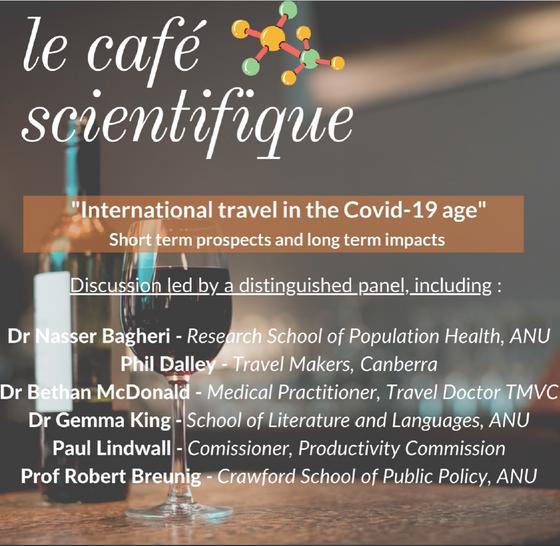 Café scientifique : International travel in the Covid-19 age
