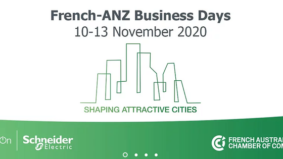 French-ANZ Business Days - Shaping attractive Cities