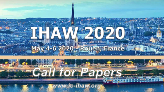 Call for Papers - IHAW 2020 (dead Line 15/01/20)