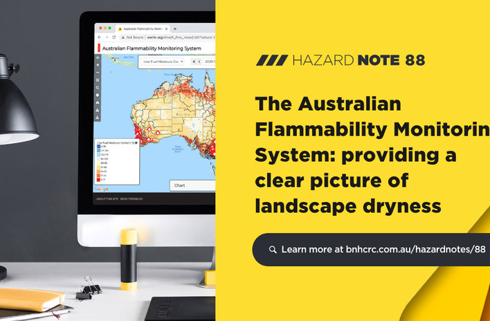 The Australian Flammability Monitoring System: providing a clear picture of landscape dryness
