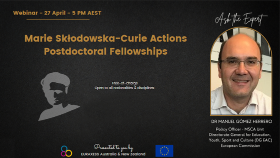 Marie Slodowska-Curie Actions Postdoctoral Fellowships