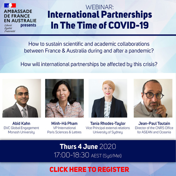 Webinar: International Partnerships In The Time of Covid-19