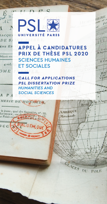 CALL FOR APPLICATIONS - PSL DISSERTATION PRIZE - HUMANITIES AND SOCIAL SCIENCES