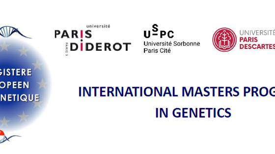 10 fellowships for international students in the European Masters in Genetics at the University of P