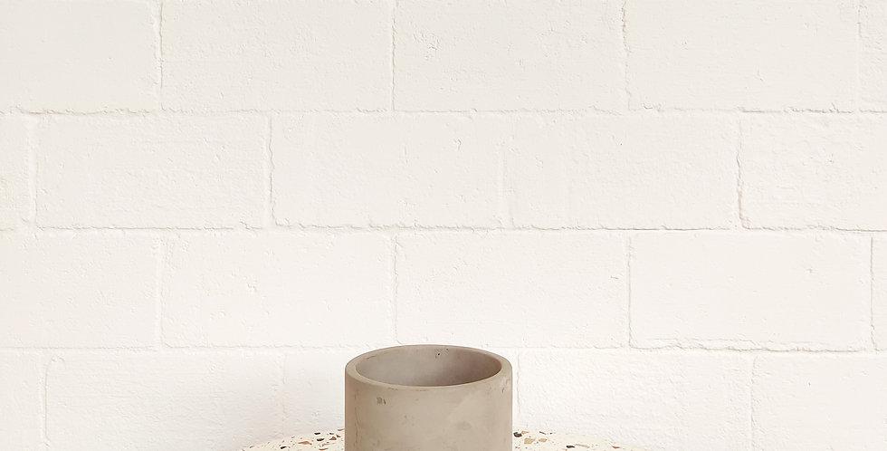 Mini Grey Concrete Pot