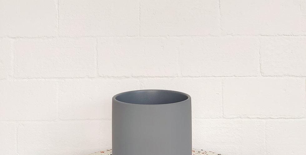 Blue Grey Coloured Pot