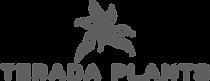 TERADA PLANTS Logo 1 line full - charcoa