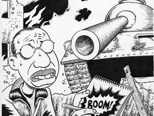 Filistin ve Ötesinde Ezilenlere Ses Veren Karikatürist: Joe Sacco | Çeviri