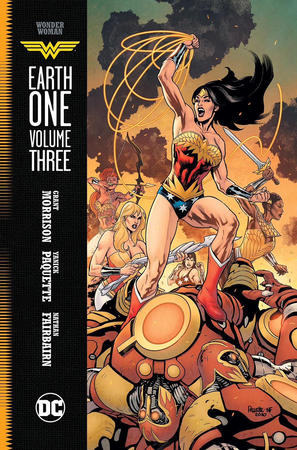 Wonder Woman: Earth One Cilt 3