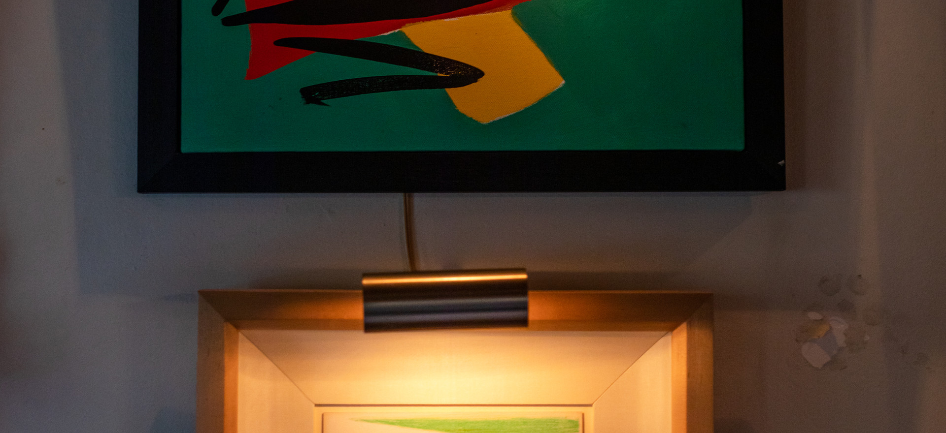 Tom Slaughter (above) David Hockney (below)