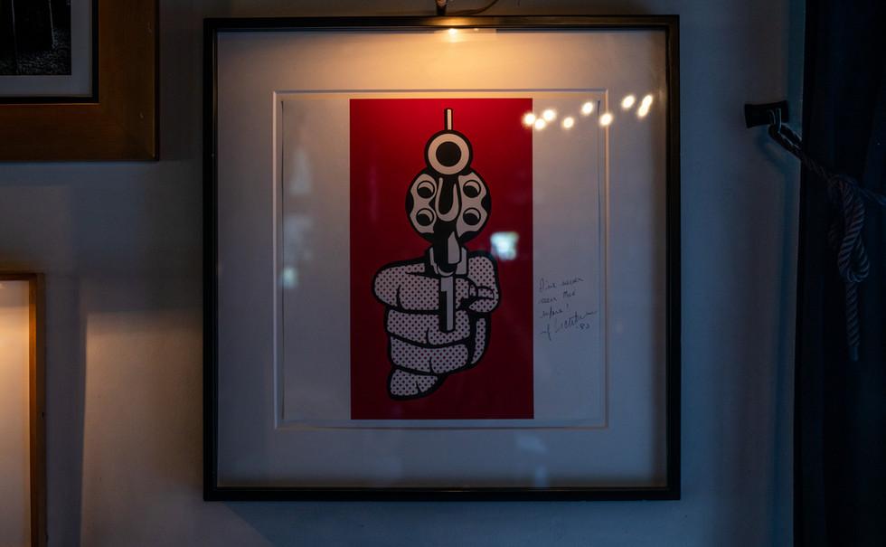 Roy Lichtenstein - Pistol (1964)