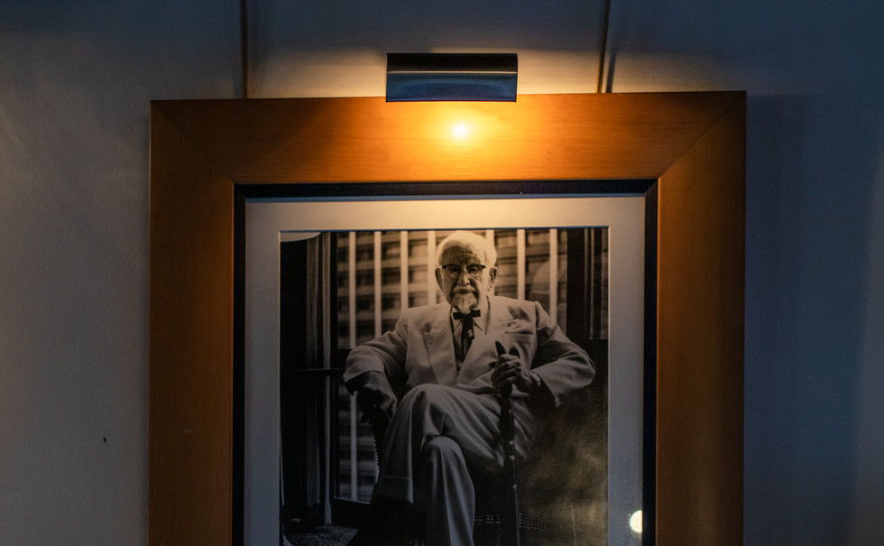 Colonel Sanders - Original Photo