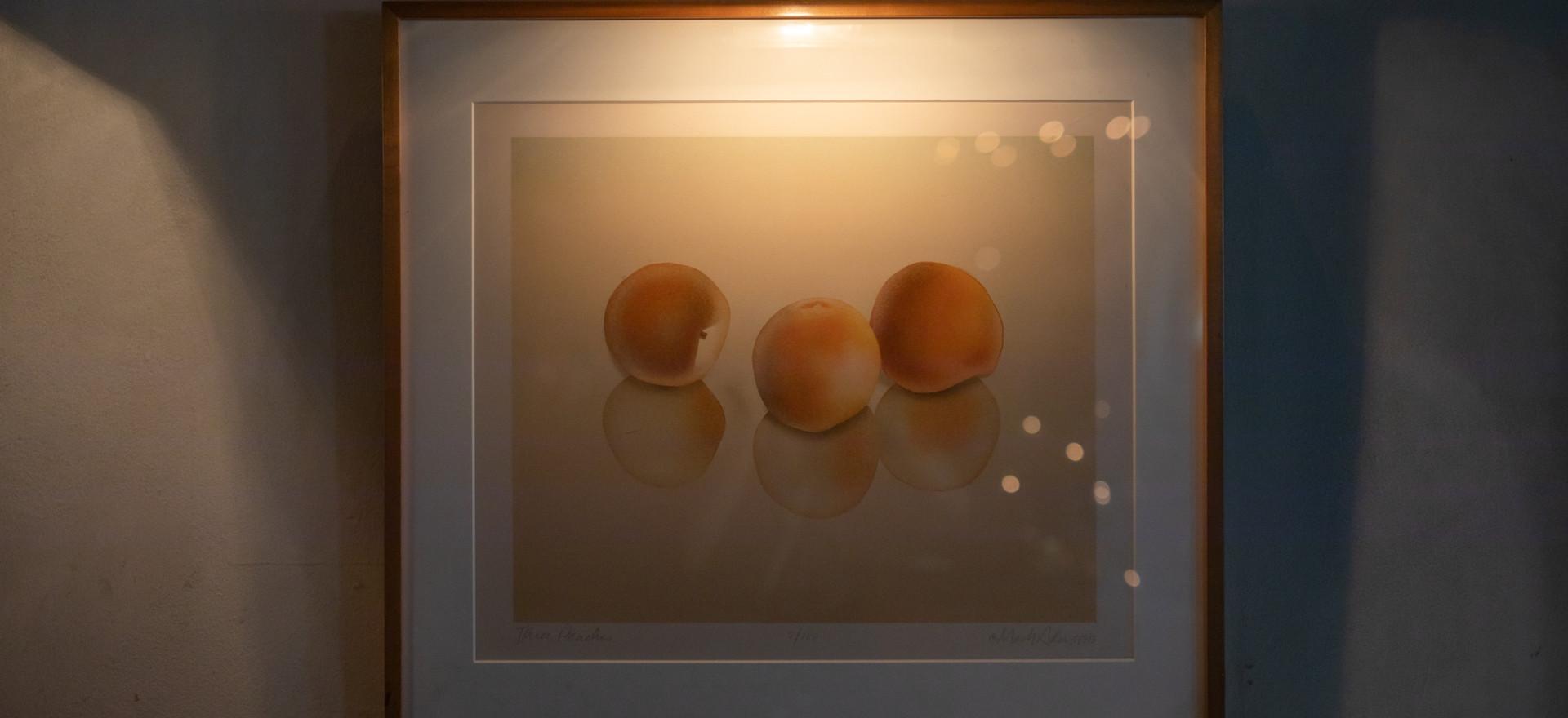 Three Peaches - Mark Adams