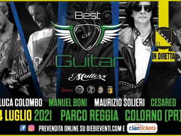 """""""Best Of Guitar"""", il concerto integrale sarà trasmesso in diretta su Radio Omega!"""