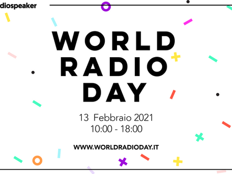 """World Radio Day"" - Radio Omega è media partner dell'evento!"