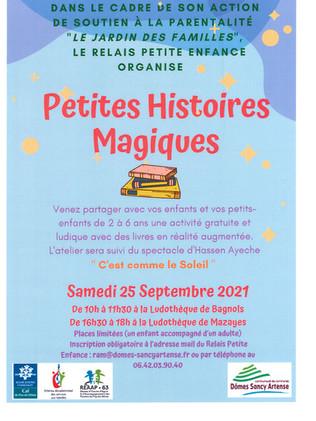 PETITES HISTOIRES MAGIQUES