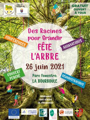 DES RACINES POUR GRANDIR FETE L'ARBRE 26/06/21 PARC FENESTRE DE LA BOURBOULE