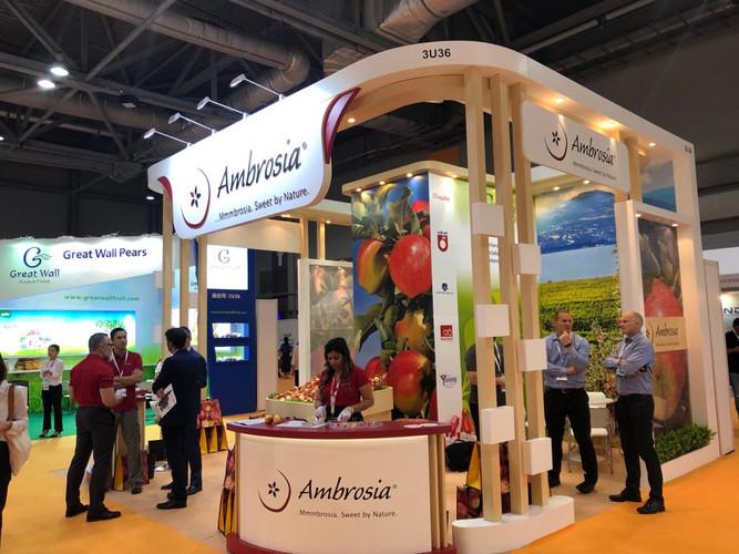 Ambrosia Apple @ Asia Fruit Logistica Ambrosia Apple @  亚洲国际水果展 2019