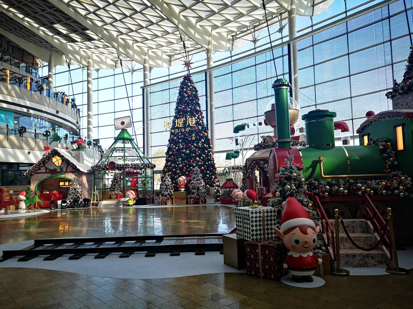 Beijing Indigo Christmas Project 北京颐堤港圣诞 项目 2018