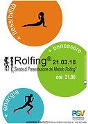 Serata di Presentazione del Rolfing, Treviso, Conegliano, Respiro