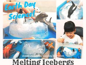 南北極冰層融化遊戲 - 幼兒地球科學(全球暖化)