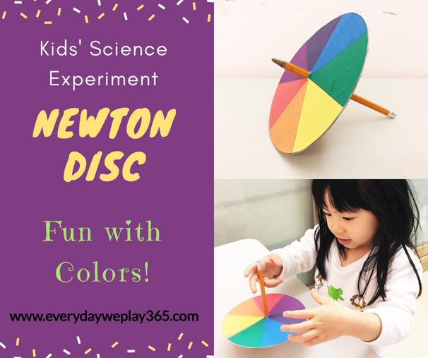驚奇牛頓七色盤 - 兒童物理(光學)
