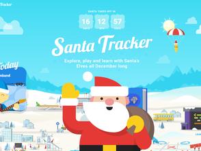 聖誕節玩遊戲學編程:Google聖誕老人追蹤器開跑!(中文支援)