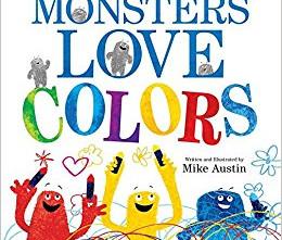 亞馬遜最暢銷3-6歲藝術童書系列-10本色彩認知書(附中譯書名)