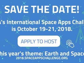 2018 NASA國際黑客松競賽10月19日開跑!台灣Space Bar隊伍曾拿下第六屆全球首獎!