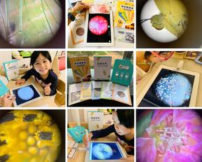 在家打造兒童科學實驗室!全球倍率第一µHandy行動顯微鏡新品開箱:神奇的水族體驗+居家藏寶盒