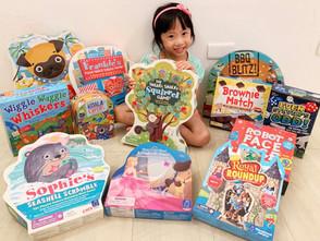 暢銷美國數十年得獎無數 當地幼兒家庭必備!來自加州經典兒童桌遊品牌 Educational Insights 系列