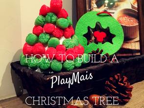 玉米黏土聖誕樹 - 幼兒數學