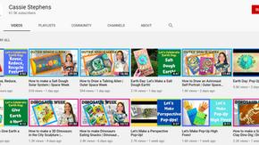 免費請美術老師到你家!來自美國田納西州的:凱希.史蒂芬YouTube兒童藝術教學頻道