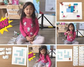 【科技爸爸教你如何帶孩子玩編程系列】Swift不插電程式遊戲 - 迷宮 Level 1 (發號指令)