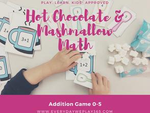 熱巧克力棉花糖遊戲 - 幼兒數學(0-5加法)