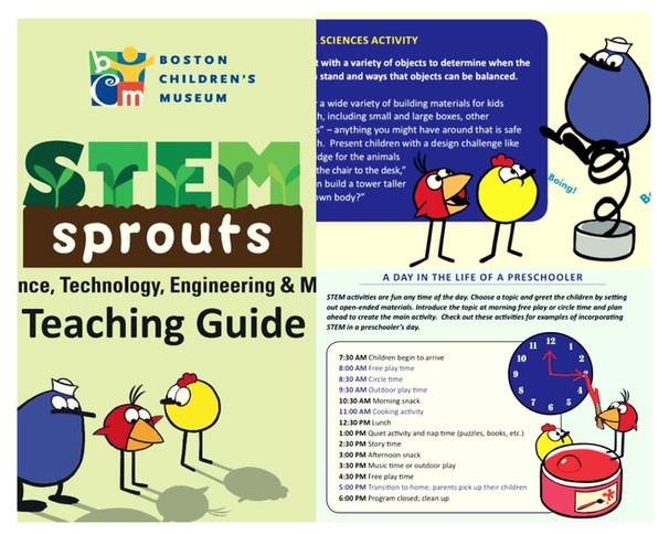 《波士頓兒童博物館STEM幼苗教學指南》鼓勵從日常生活做起 父母是孩子的第一個老師