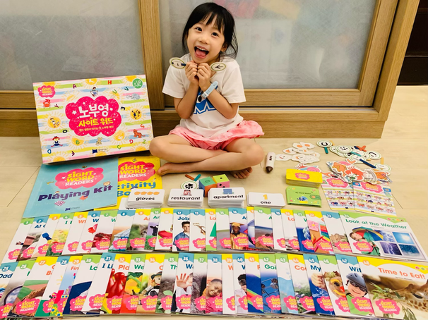 Sight Words教材 | 兒童英文閱讀 | 適合亞洲孩子的英文啟蒙教材 JY Sight Words | KidsRead點讀筆